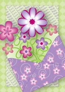 Spring Envelope Card