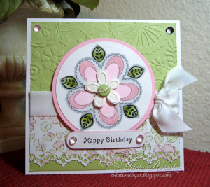 This beautiful card is by Adela Rossol