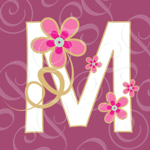 Czeshop Images Decorative Letter M Clipart